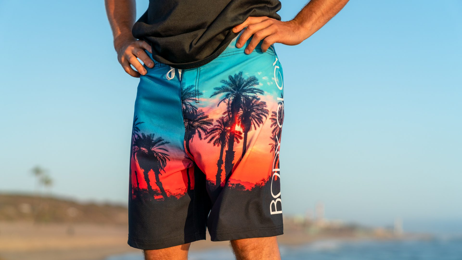 BGA Mens Paradiso Boardshort Sunset