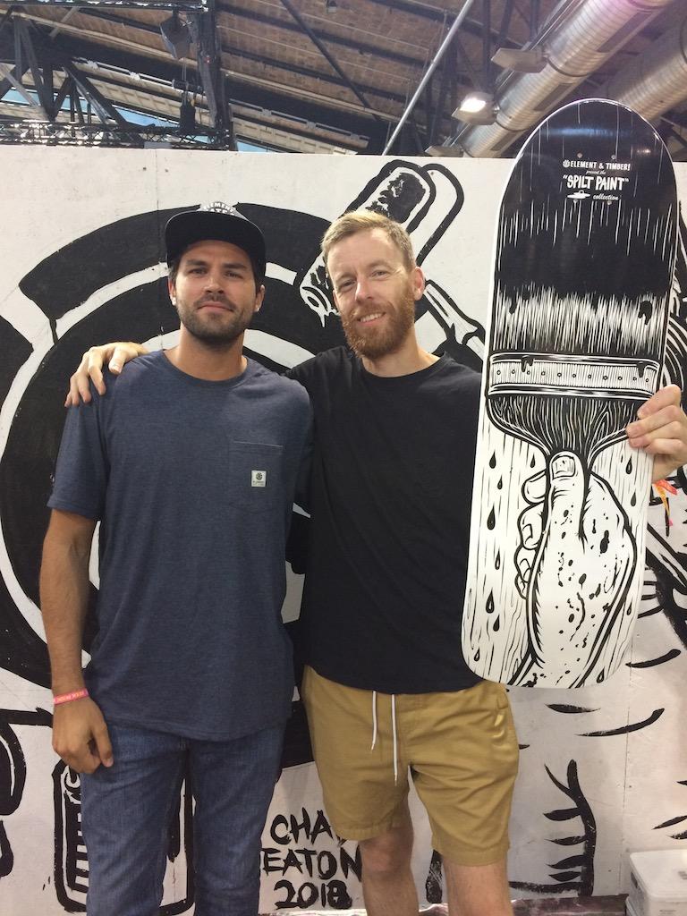 Element's Yohann Storez and Julien Duval