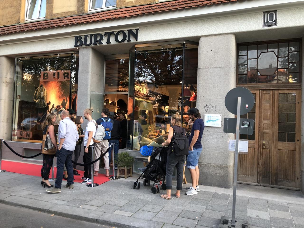 01 Red Carpet for Burton Shop Opening