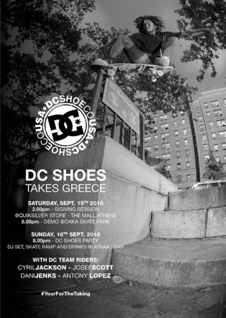 The DC Skate Team Greece