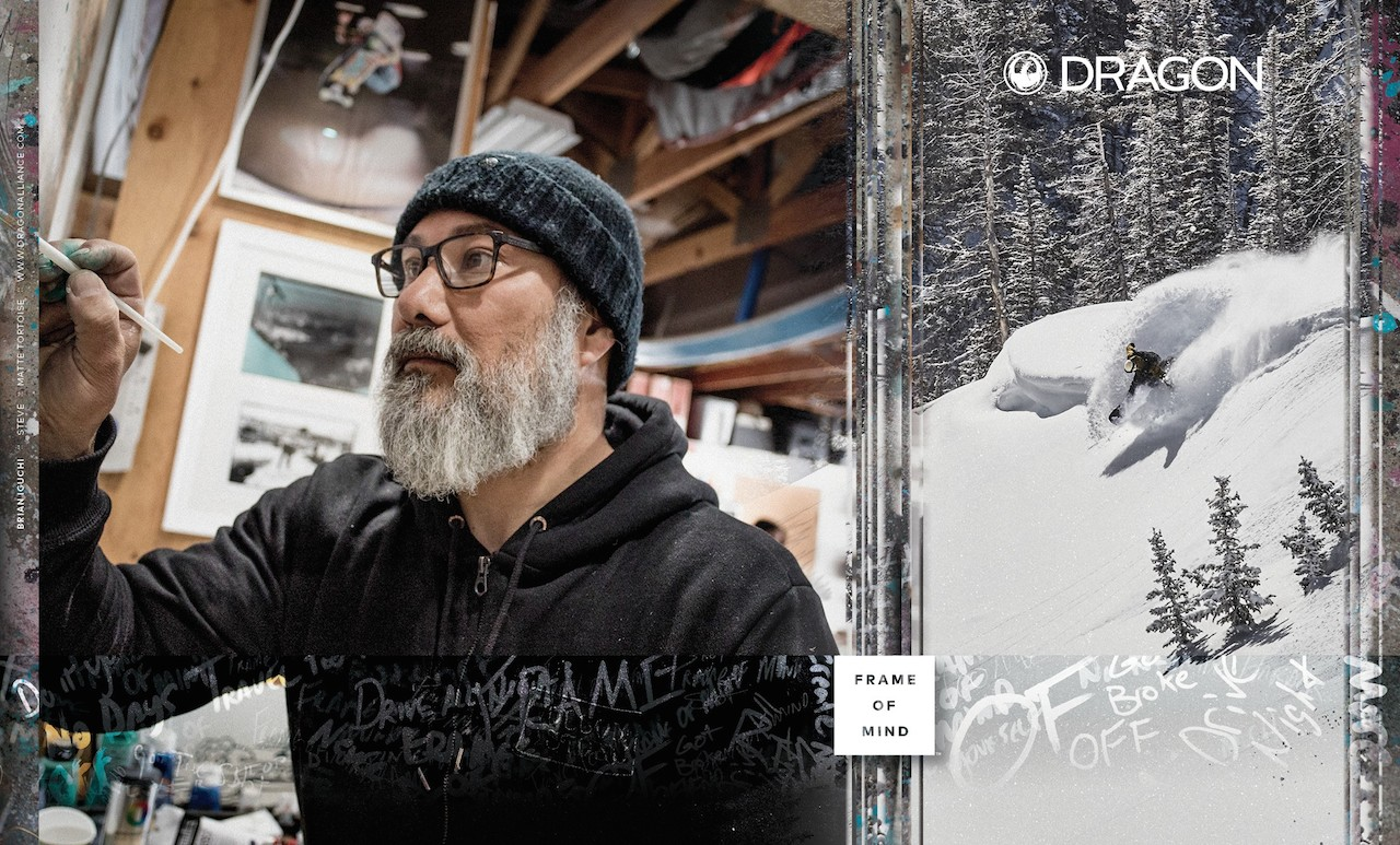 Dragon Snowboard Fall 18