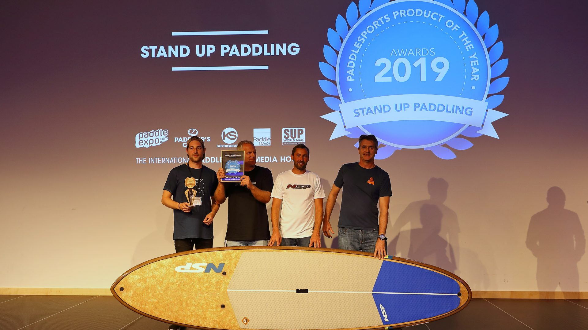 12 Awards NSP for best paddlesport product