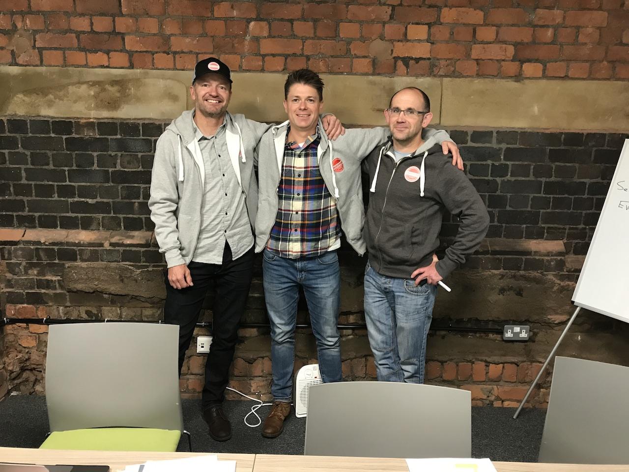 Graystone Founders (L-R) Kevin Gray, Ben Livingstone, David McCabe