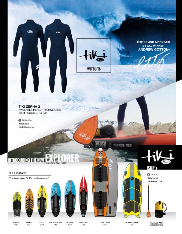 93 Tiki wetsuits