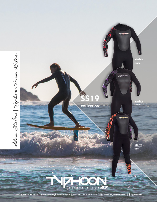 93 Typhoon wetsuits