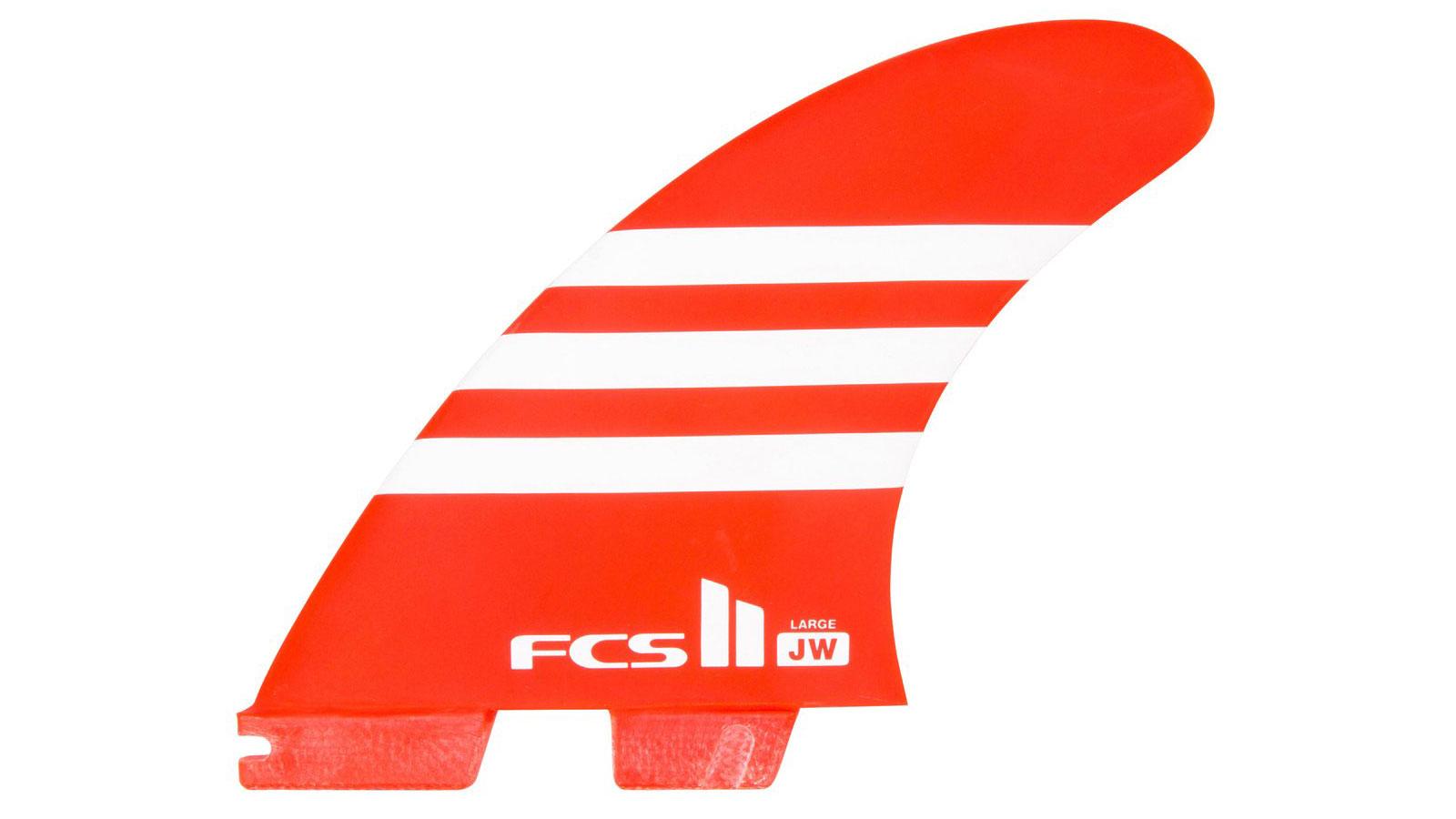 FCS II AIRCORE TRI FIN RED
