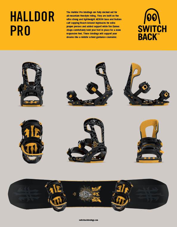 94 Switchback bindings
