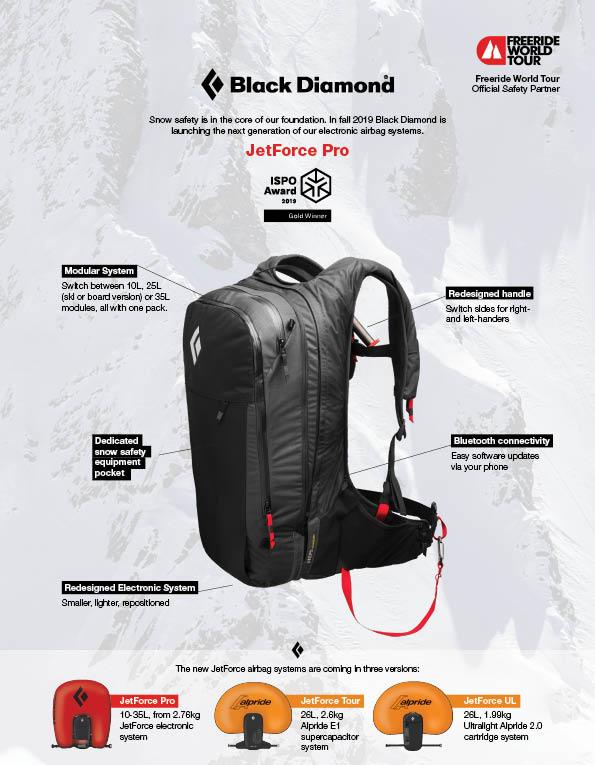 95 Black Diamond backpack