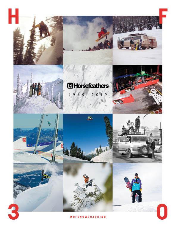 95 Horsefeathers snowboard