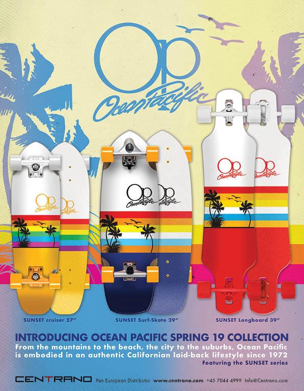 95 Ocean Pacific longboard