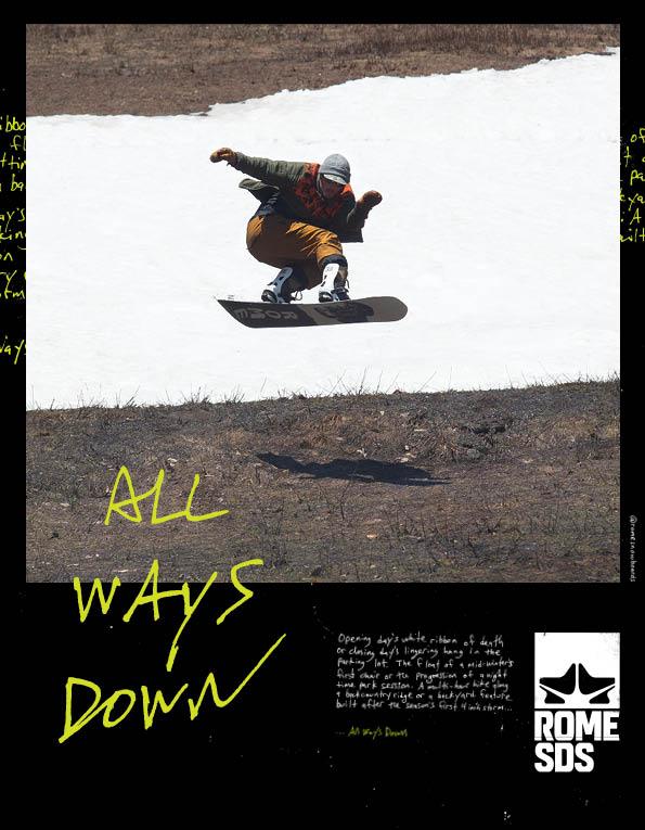 95 Rome snowboards
