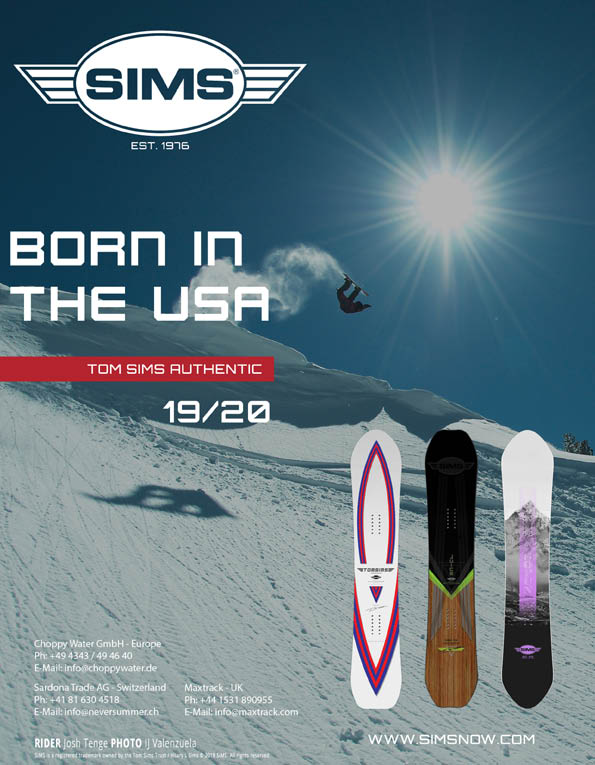 95 Sims snowboard