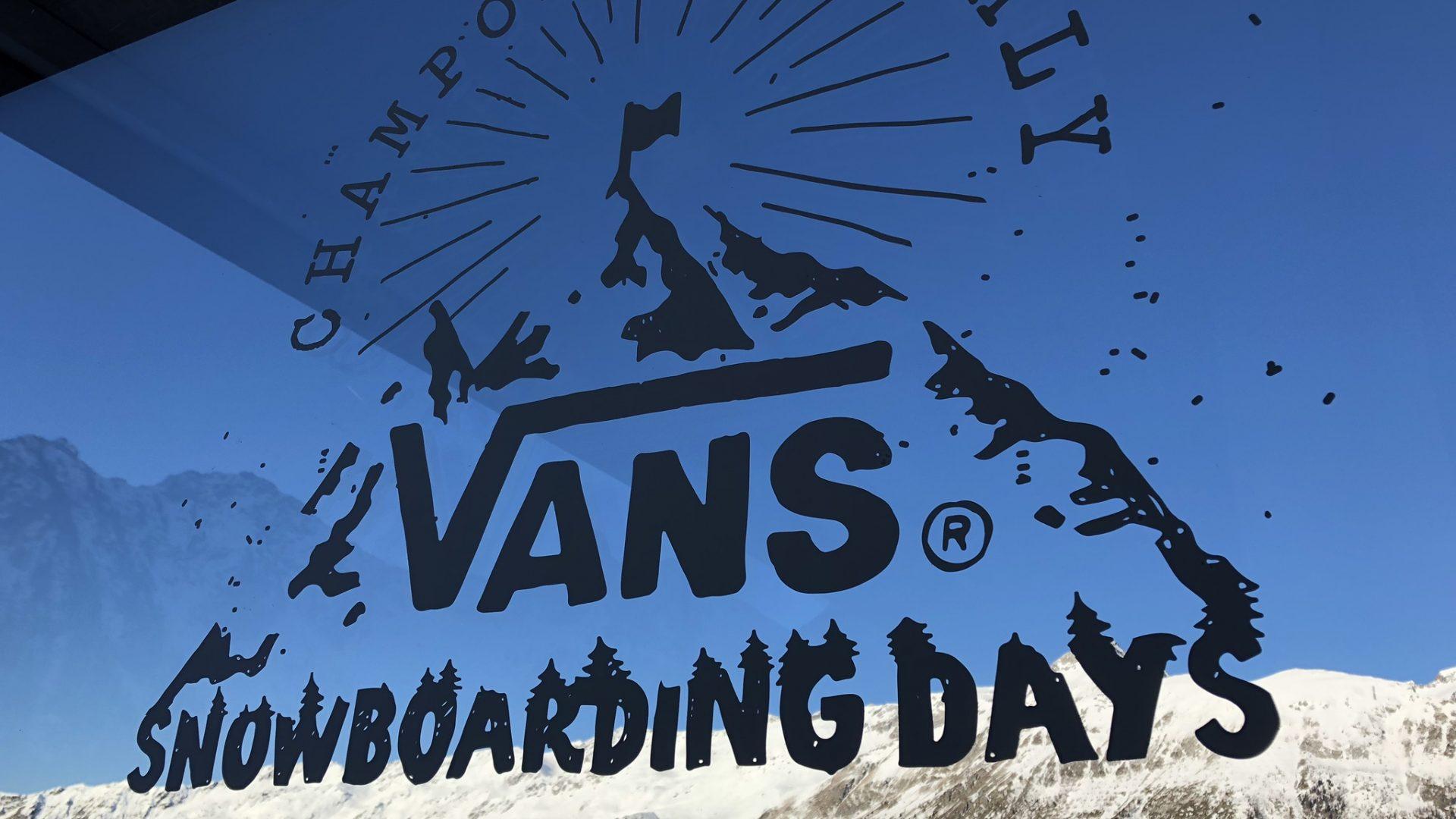 Vans Snowboarding Days 2019. Champoluc, Italy