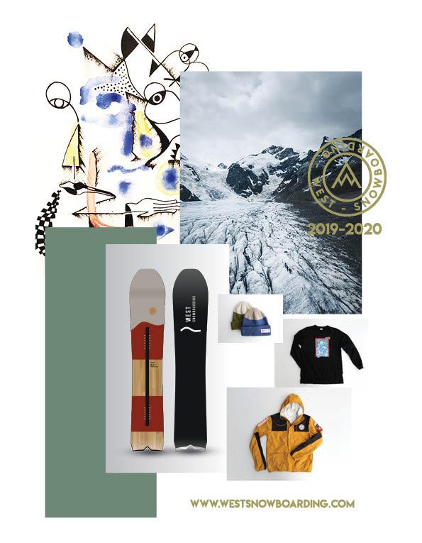 95 West snowboards