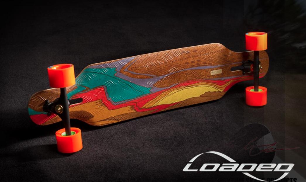 Loaded Boards & Orangatang wheels