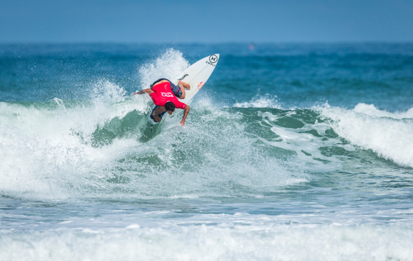 Portuguese Deeply Team Rider Vasco Ribeiro at the 2018 Pro Anglet