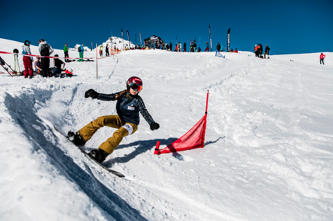 Montafon Banked Slalom