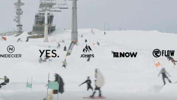Nidecker Banked Slalom
