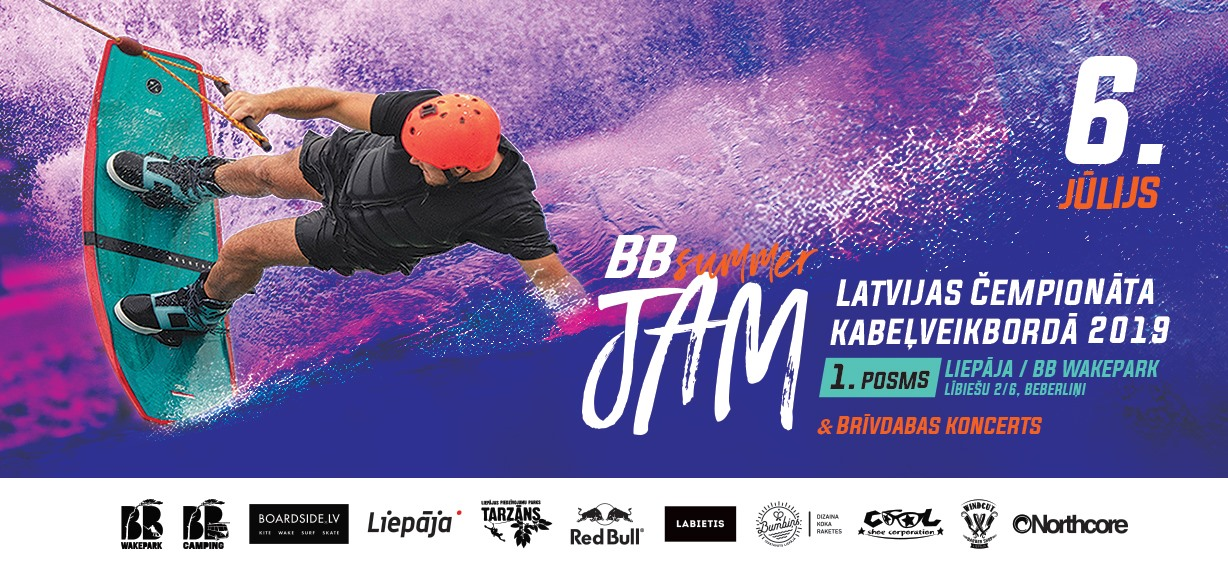 BB Summer Jam Wakeboard event