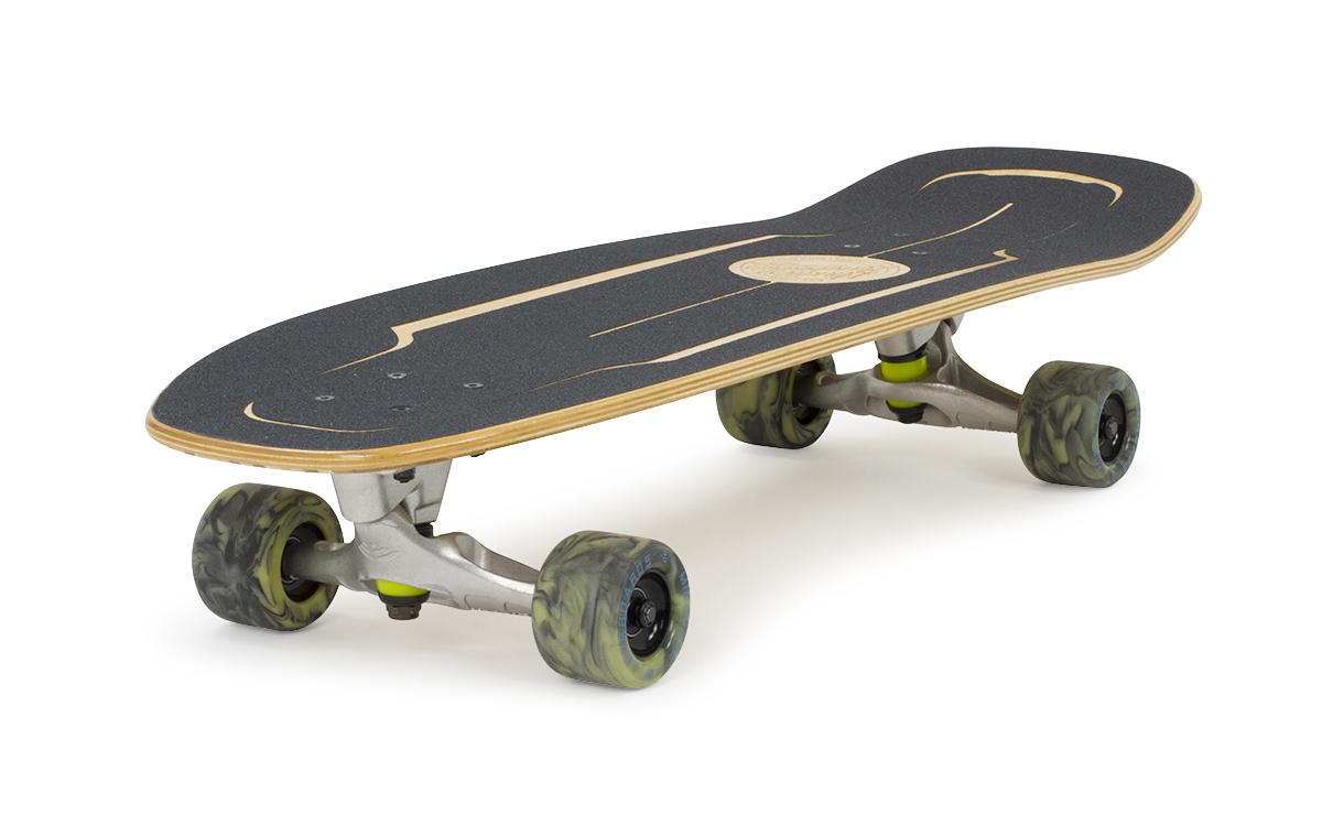 MS2000 Mindless Longboards Surf Skate Bamboo Angle Grip POST