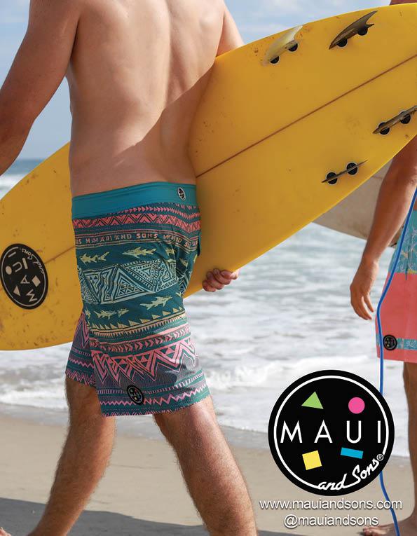 97 Maui board shorts