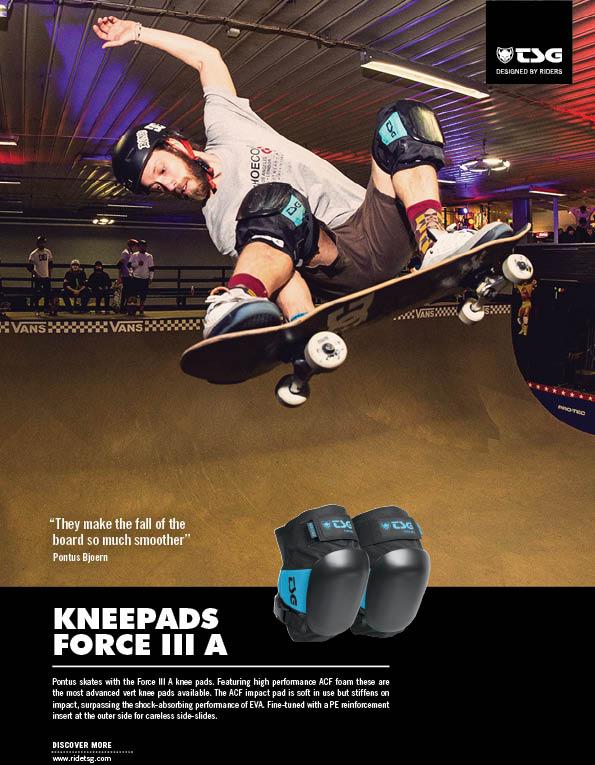 97 Tsg knee pads