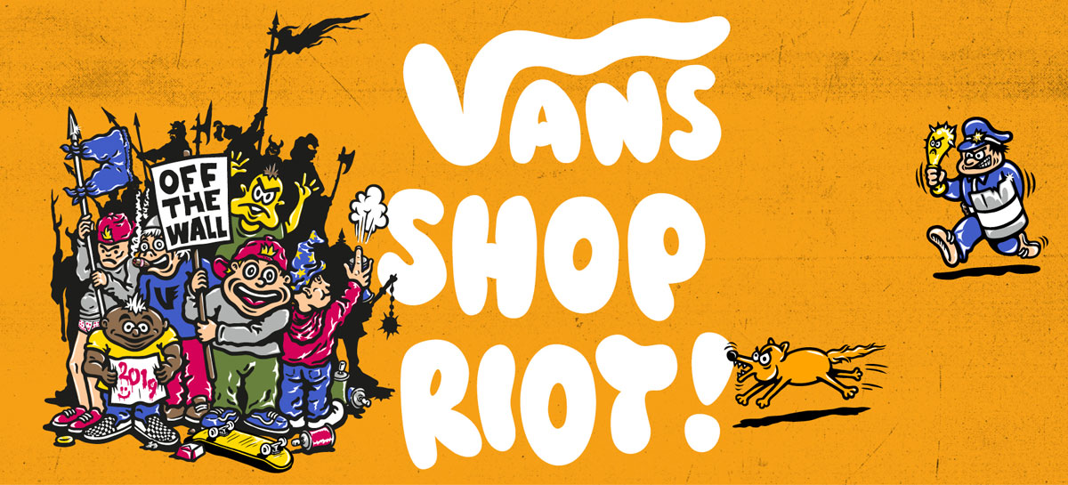 Vans Shop Riot series is back for its 11th consecutive year.