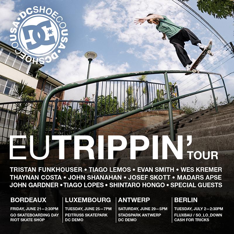 """The DC's """"EU TRIPPIN"""" Tour"""