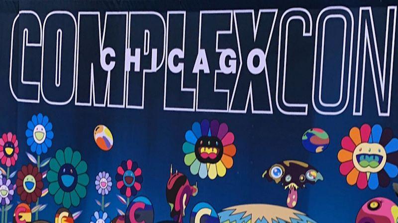 ComplexCon Chicago artwork by Takashi Murakami