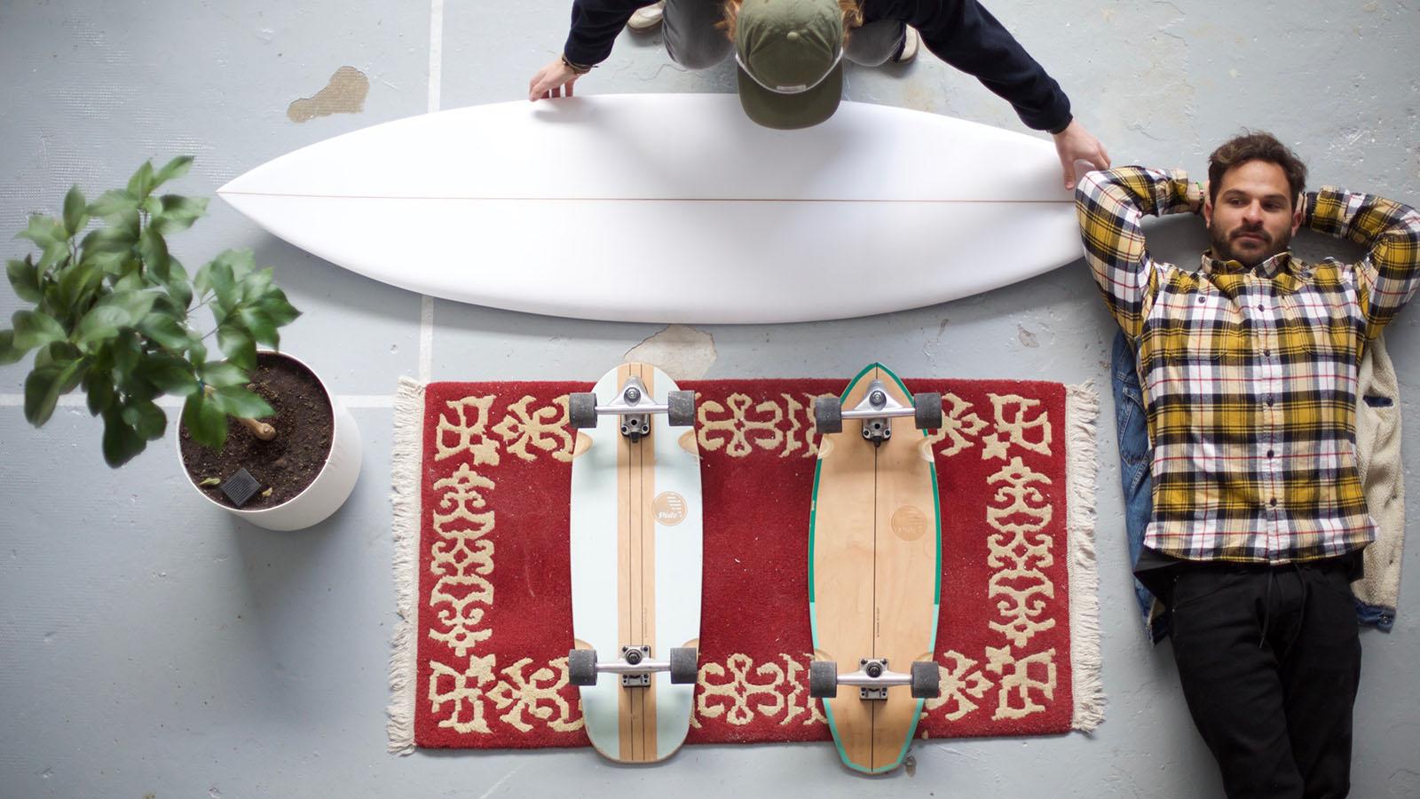 Slide Skateboards SS20 Surfskate Preview