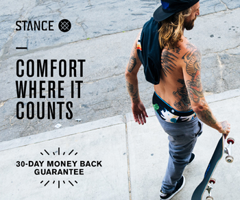 Stance Underwear Warranty Homepage square