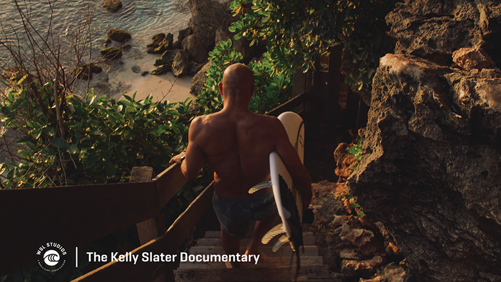 WSL World Surf League Studios Programming Kelly Slater Documentary