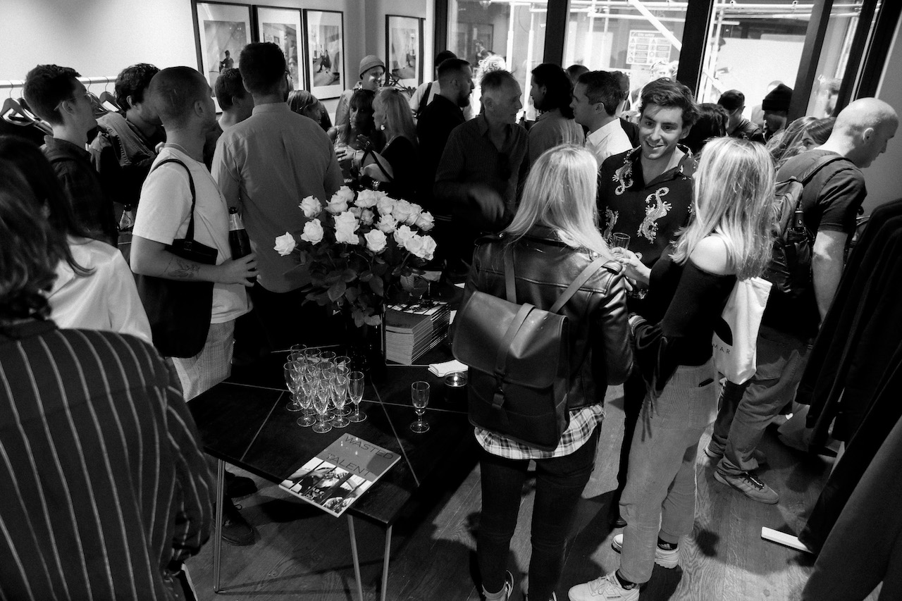 Wasted Talent | Globe London popup.