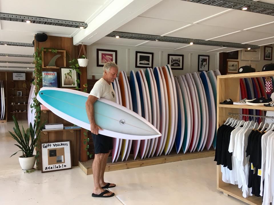 Simon Anderson Surfboards Xhapeland Thrust
