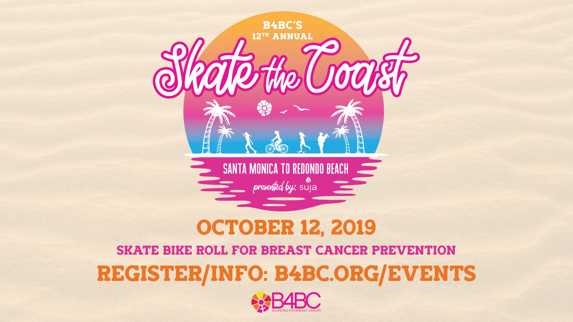 B4BC Board For Breast Cancer Skate The Coast Event Santa Monica Pier Redondo Beach