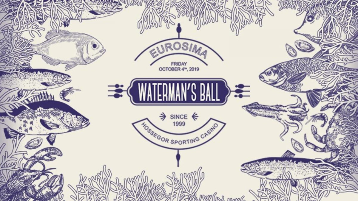 Waterman's Ball poster, October 2019