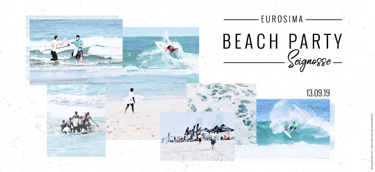 EUROSIMA Beach Party Seignosse Surfing