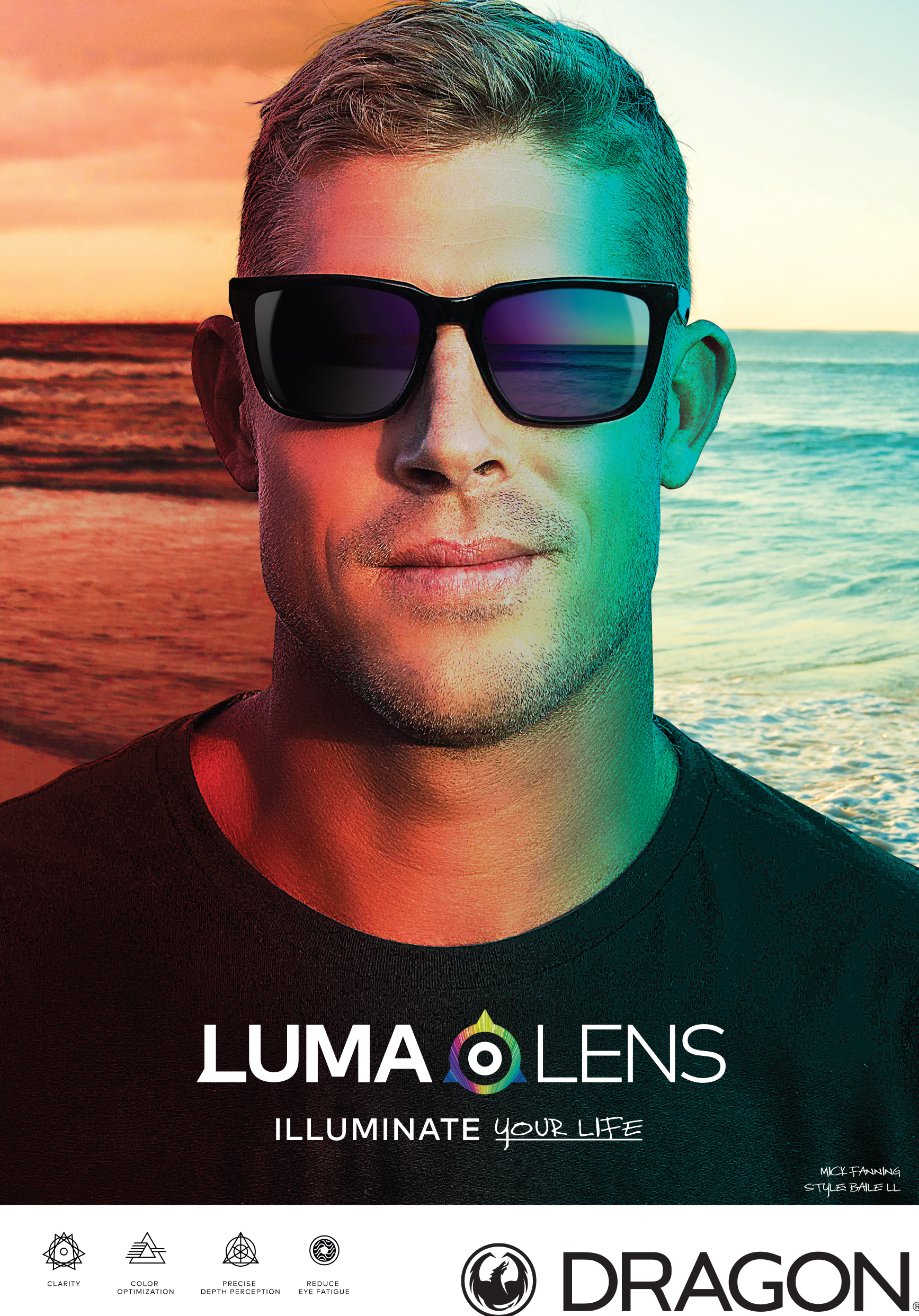 Dragon Eyewear Lumalens Technology Sunglasses Fall 2019