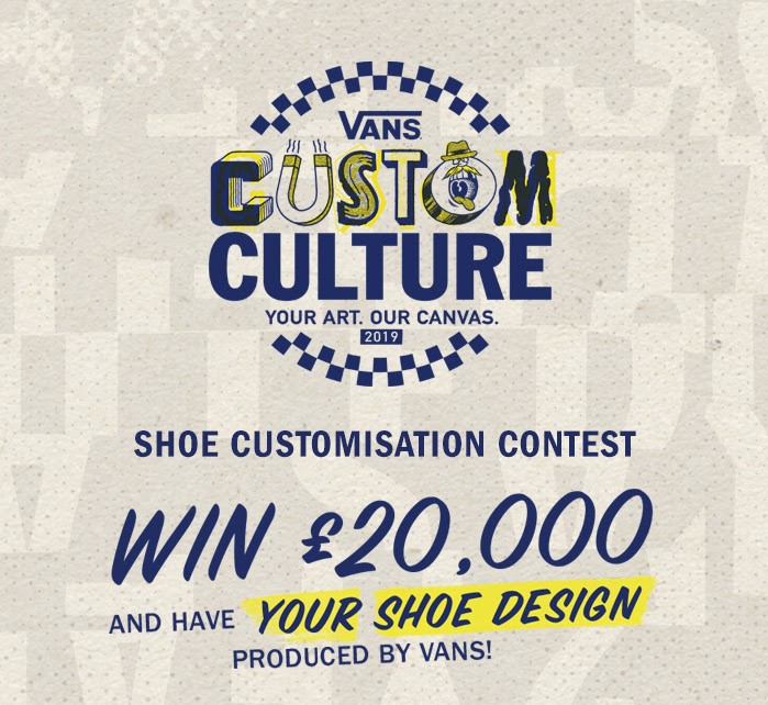 Vans Custom Culture Shoe Design Contest Customisation