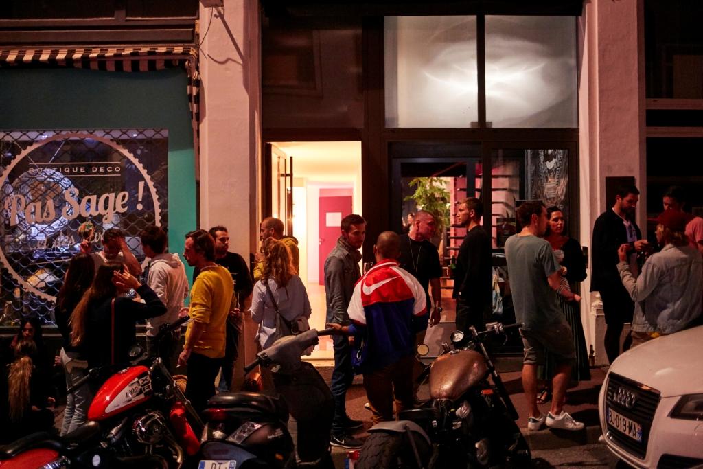 Ramzi Adeks RVCA Biarritz Basement Gallery