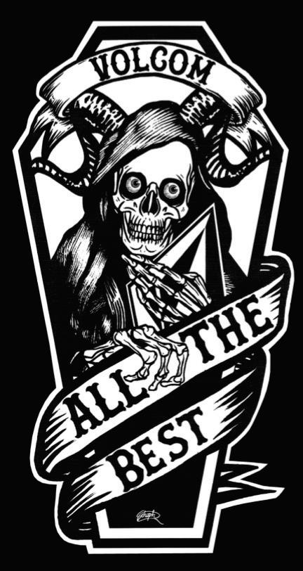 'All The Best' Coffin patch