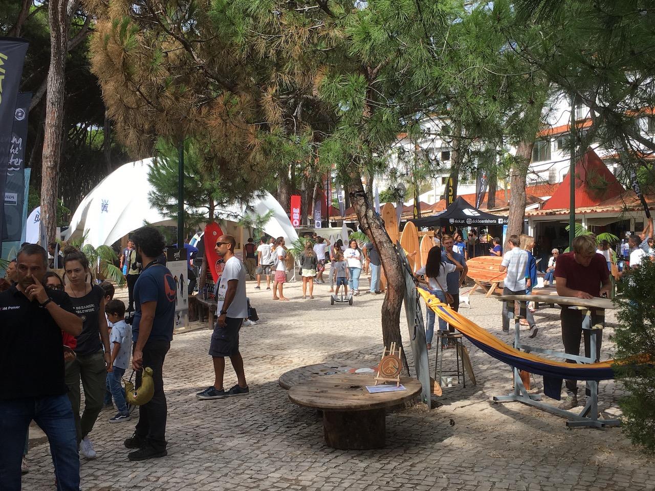 Around the expo