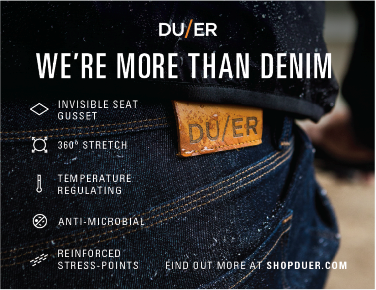 DUER Tech Bullet Point Image