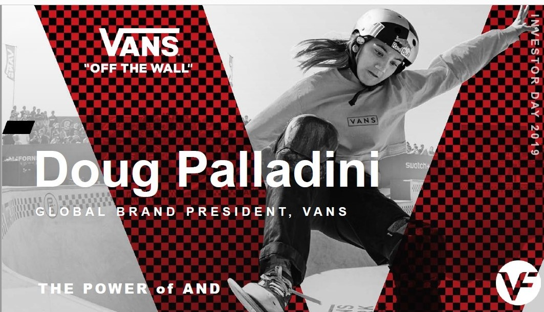 Doug Palladini, Vans President