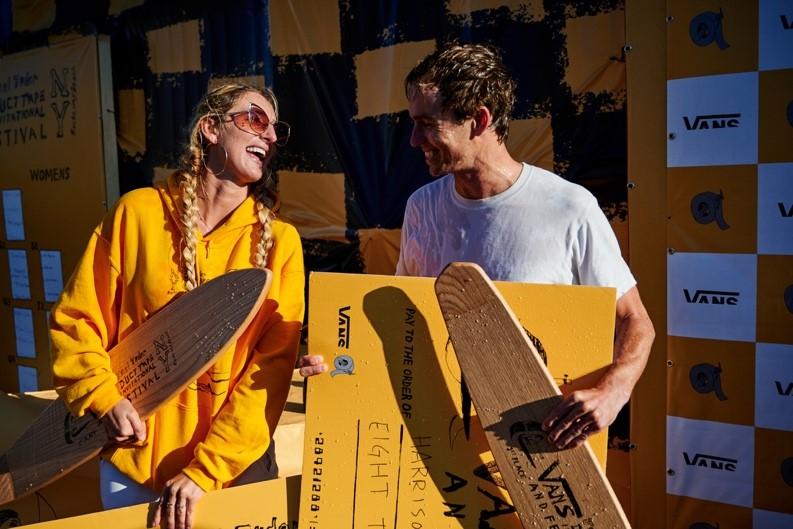 NY Duct Tape Invitational 1st Place winners (Kirra Seale & Harrison Roach)