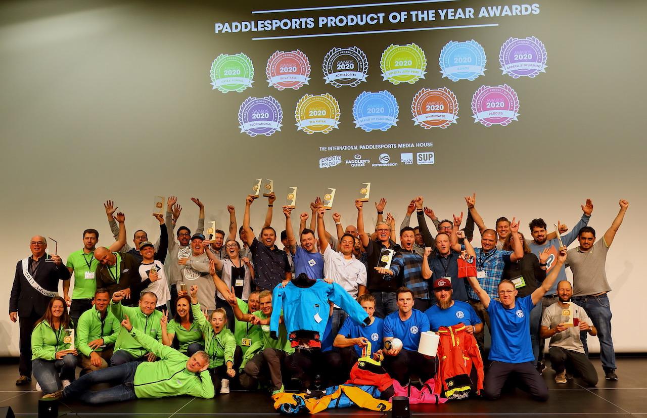 Paddlexpo dinner all award winners