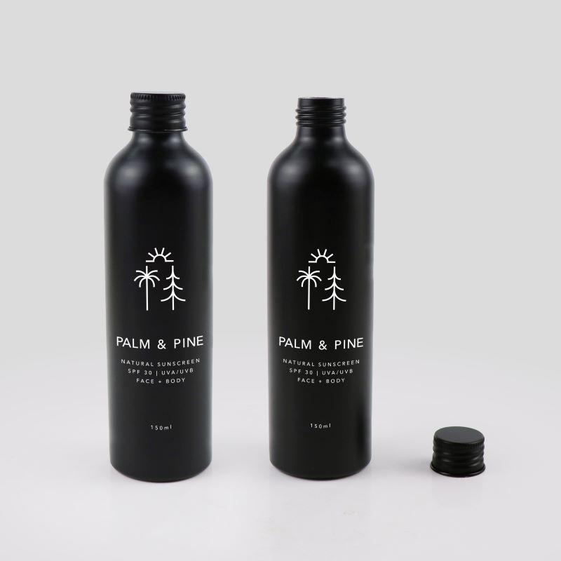 Palm Pine Bottle Mockup