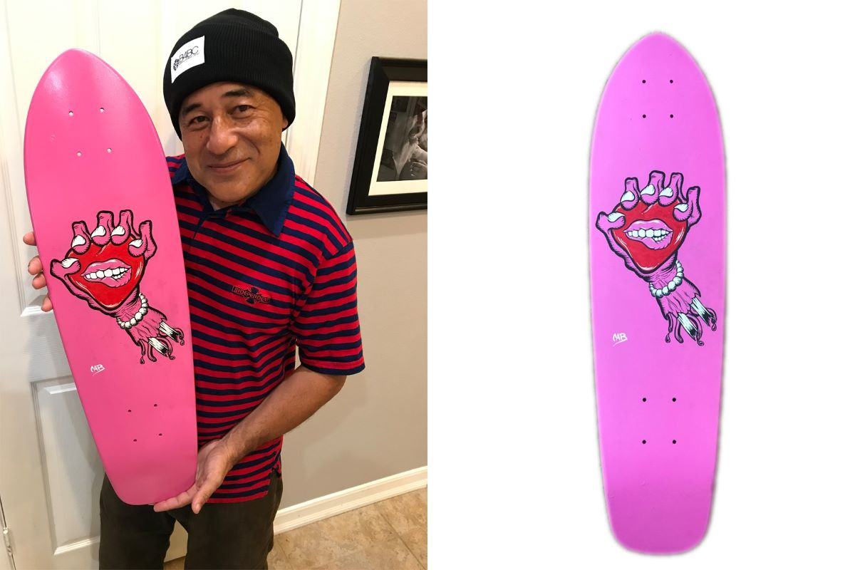 Steve Caballero's Art up for auction at evo Seattle Gallery