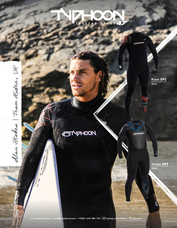 98 Typhoon wetsuits