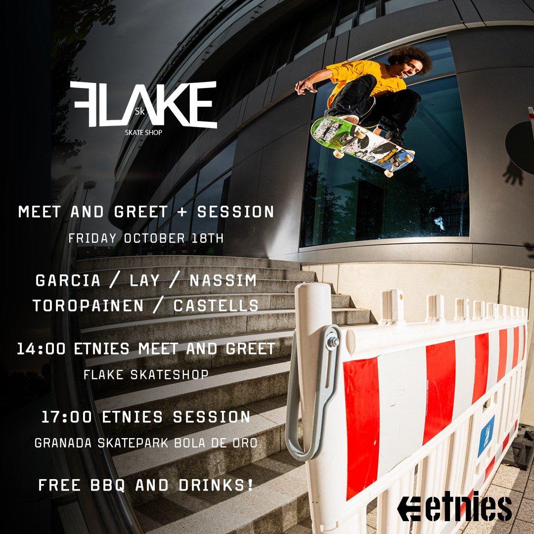 etnies @ Granada (Flake Skateshop)